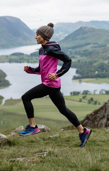 Women trail